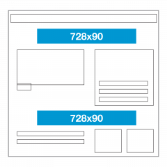 Website ad size - leaderboard
