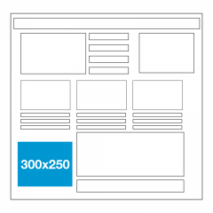 Website ad size - Left Rectangle