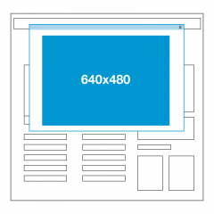 Website ad size - Welcome ad/Prestitial