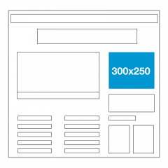 Website ad size - Right Rectangle